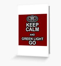 Green Light Go! Greeting Card