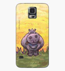 Tierparade Hippopotamus Hülle & Klebefolie für Samsung Galaxy