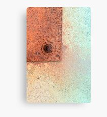 Metal Dispersion Canvas Print