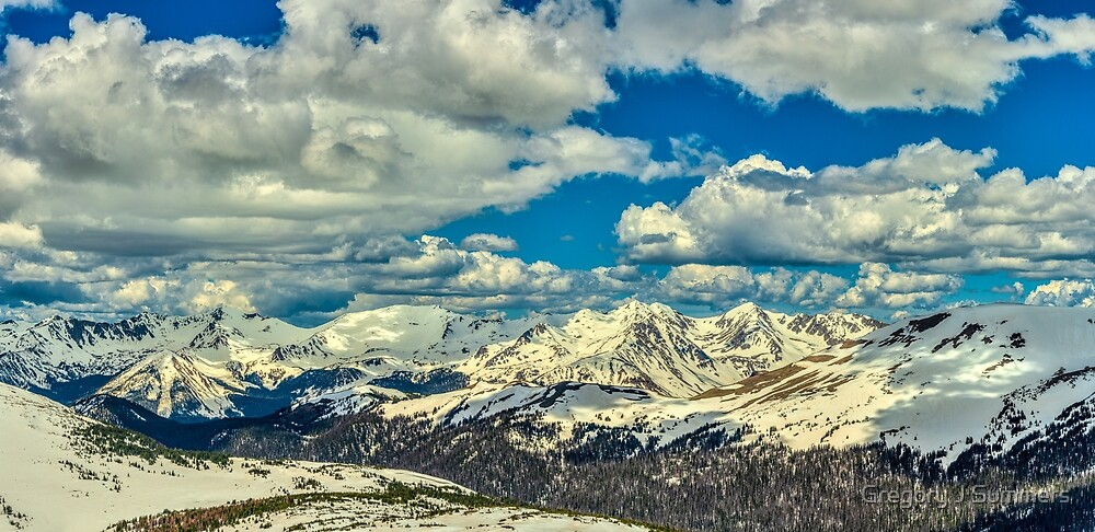 The Gore Range by Gregory J Summers
