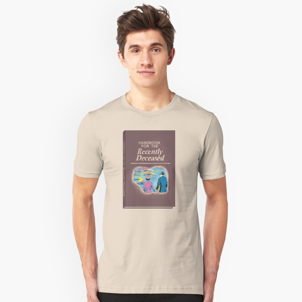 Handbook for the Recently Deceased Slim Fit T-Shirt