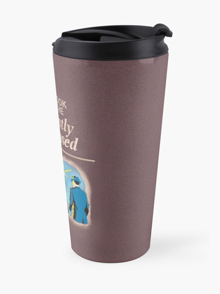 Alternate view of Handbook for the Recently Deceased Travel Mug