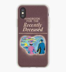 Handbook for the Recently Deceased iPhone Case