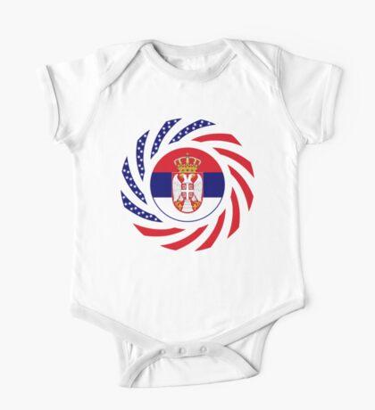 Serbian American Multinational Patriot Flag Series Kids Clothes