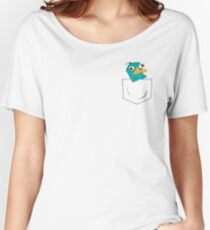 Perry the Platypus Pocket Women's Relaxed Fit T-Shirt