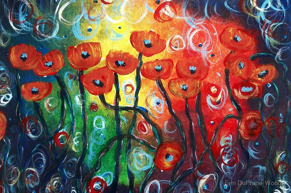 Poppy Chaos by Erin DuFrane-Woods