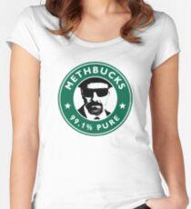 Methbucks - Heisenberg (Breaking Bad) Women's Fitted Scoop T-Shirt