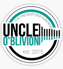 Uncle O'blivion Logo Sticker