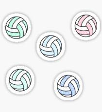 Cute Volleyball Pack Sticker