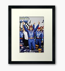 Dario wins! Framed Print
