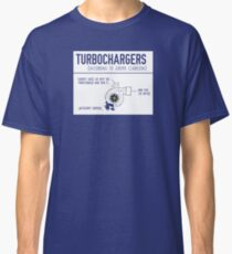 How Turbochargers work, By Jeremy Clarkson Classic T-Shirt