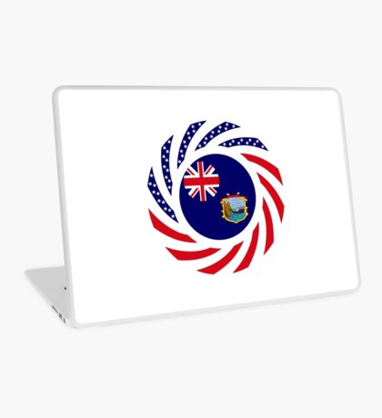 Saint Helena American Multinational Patriot Flag Series Laptop Skin