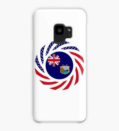 Saint Helena American Multinational Patriot Flag Series Case/Skin for Samsung Galaxy