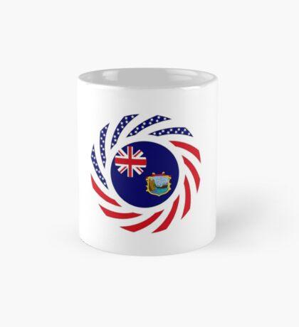 Saint Helena American Multinational Patriot Flag Series Mug