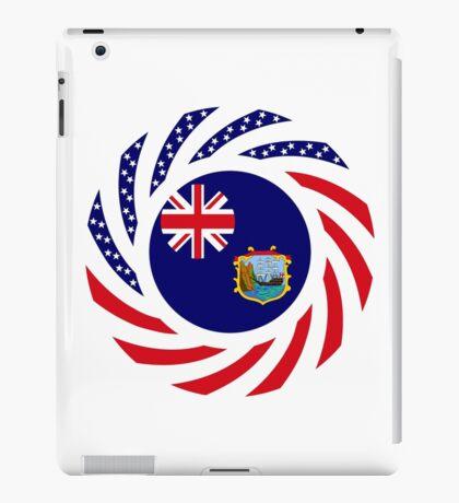 Saint Helena American Multinational Patriot Flag Series iPad Case/Skin