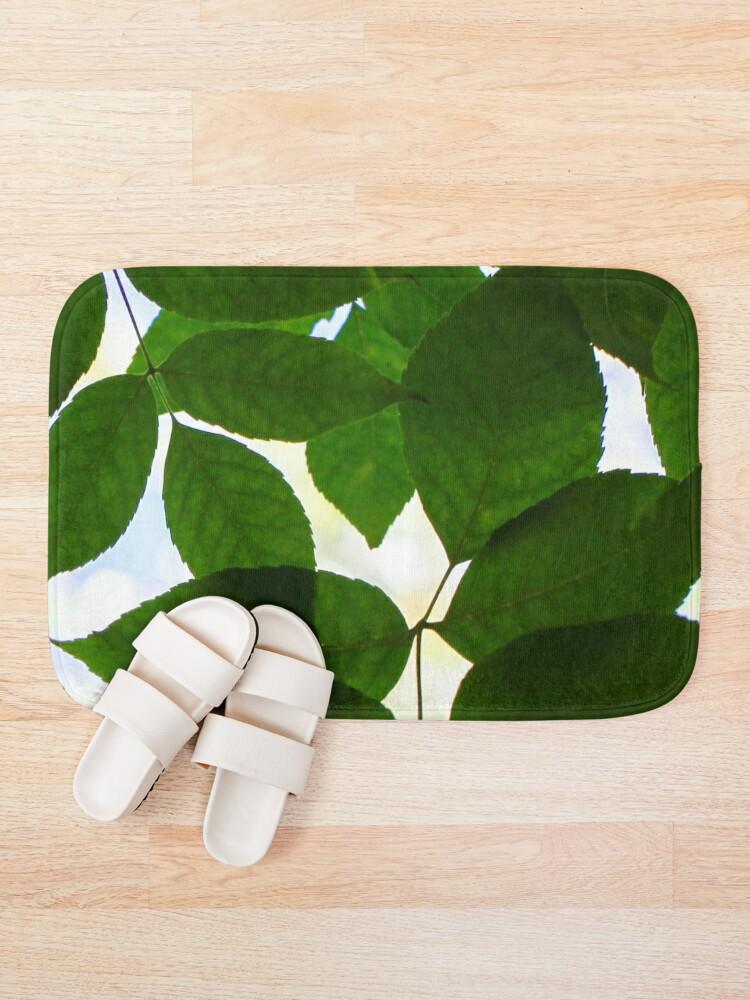 Alternate view of Natural Patterns  Bath Mat