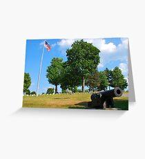 Civil War Memorial Greeting Card