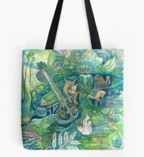 Emerald Wisdom Tote Bag