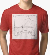 Ted is dropped into unknown territory Tri-blend T-Shirt