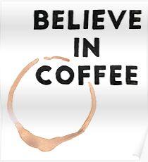 Religious Coffee Poster