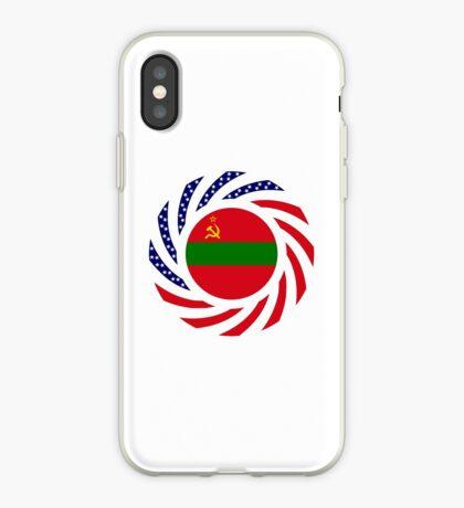 Transnistrian American Multinational Patriot Flag Series iPhone Case
