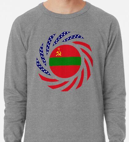 Transnistrian American Multinational Patriot Flag Series Lightweight Sweatshirt