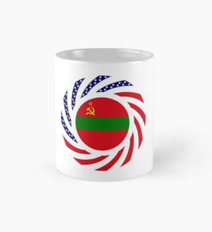 Transnistrian American Multinational Patriot Flag Series Mug
