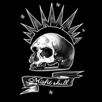 Misfit Skull Black by swapo