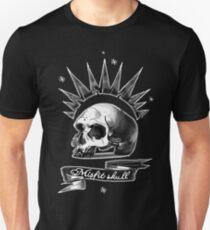 Misfit Skull Black Unisex T-Shirt