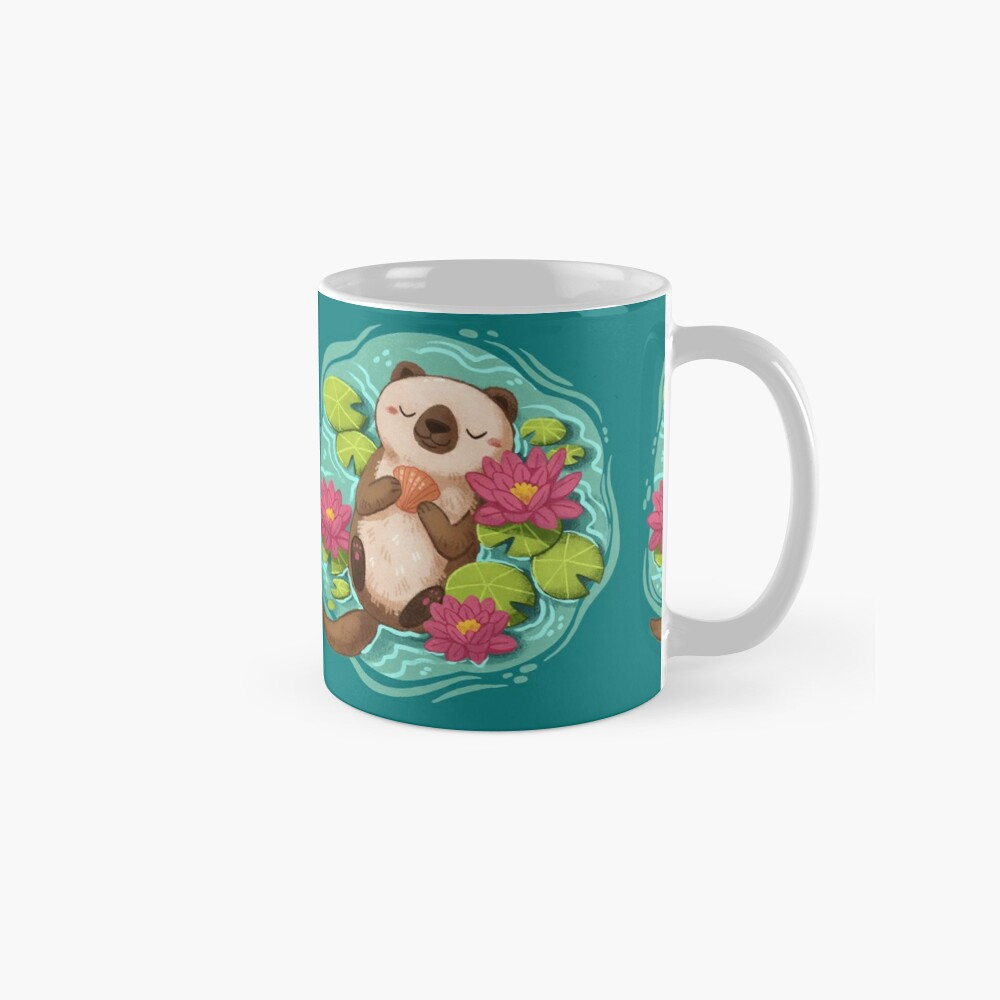 Happy Otter  Mug