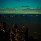 Echo Point - Three Sisters 01 by Steven Maynard