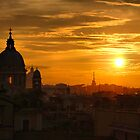 Sunset in Rome by andreisky