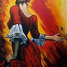 flamenco lady by dave reynolds