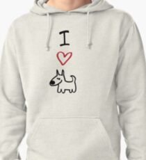 I Love Dogs Pullover Hoodie