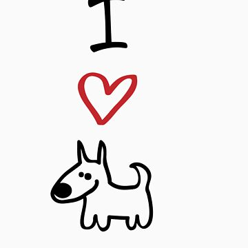 I Love Dogs by designgroupies
