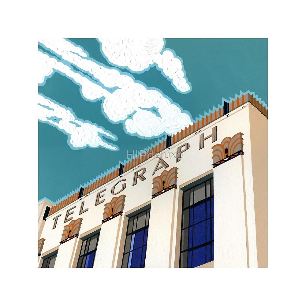 Daily Telegraph Building Detail by HIPdeluxe