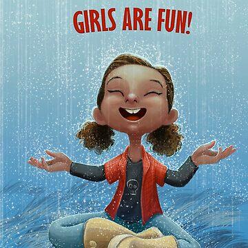 Girls are Fun! by danepioli