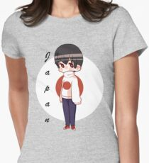 APH Japan - Flag Sweater Women's Fitted T-Shirt