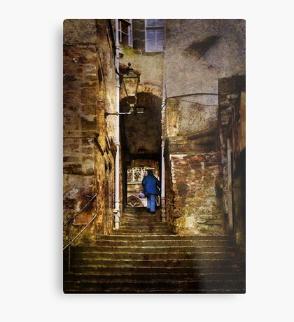The Stairs Metal Print