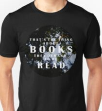 The Thing About Books Unisex T-Shirt