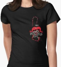 Stitched Woman Women's Fitted T-Shirt