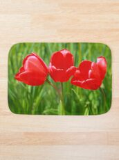 Three Tulips Bath Mat