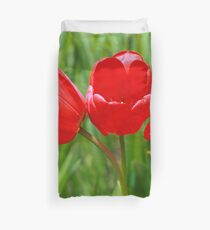 Three Tulips Duvet Cover
