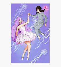 Princess Jellyfish Photographic Print