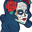Sugar Skull Woman  by scooterbaby