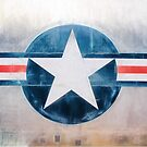 Air Force Vintage Military Emblem by JoeyKnuckles