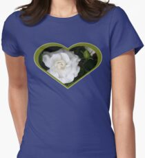 Romantic Night ~ Scent of Gardenias Womens Fitted T-Shirt