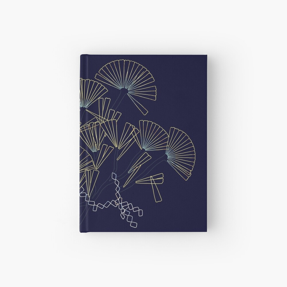 Licmophora - a naive diatom Hardcover Journal