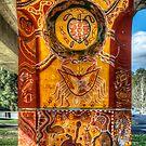 Cowra Painted Pylon 7 by Jason Ruth