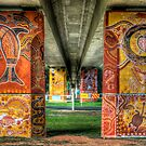 Cowra Painted Pylon 8 by Jason Ruth